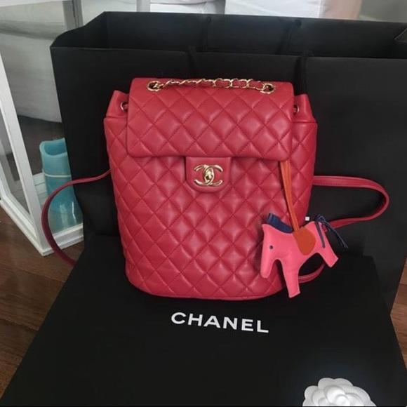 2d573061258e CHANEL Bags | Quilted Lambskin Urban Spirit Backpack | Poshmark